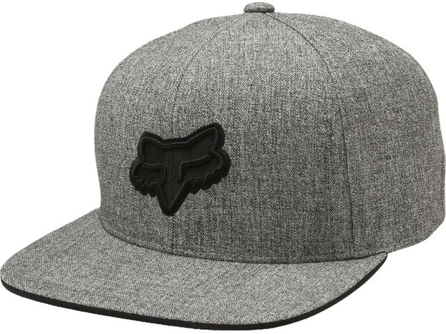 Fox Legacy Snapback Cap Men heather grey